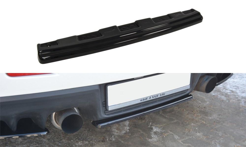 Splitter Tylny Środkowy Mitsubishi Lancer Evo X (Bez dyfuzora) - GRUBYGARAGE - Sklep Tuningowy